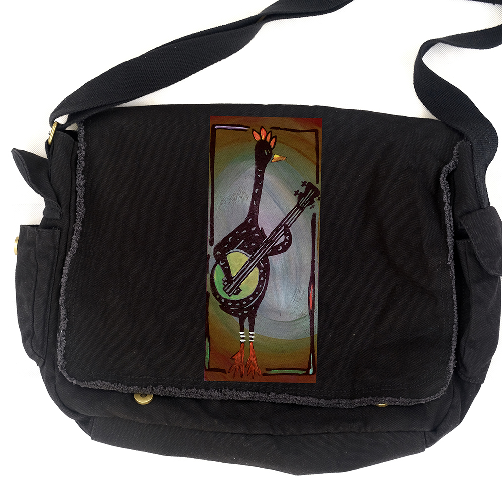 bd6e1b540 Funk A. Chicken Messenger Bag - Yeah!Yeah!PonyPrince