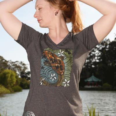 Womens Missy V-Neck T-shirt