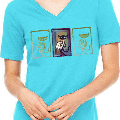 Womens Missy V-Neck T-shirt